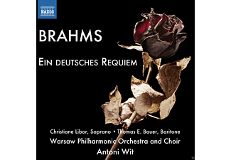 Libor Christiane, Henryk Wojnarowski, Bauer Thomas E., Warsaw Philharmonic Choir And Orchestra - Ein Deutsches Requiem - (CD)