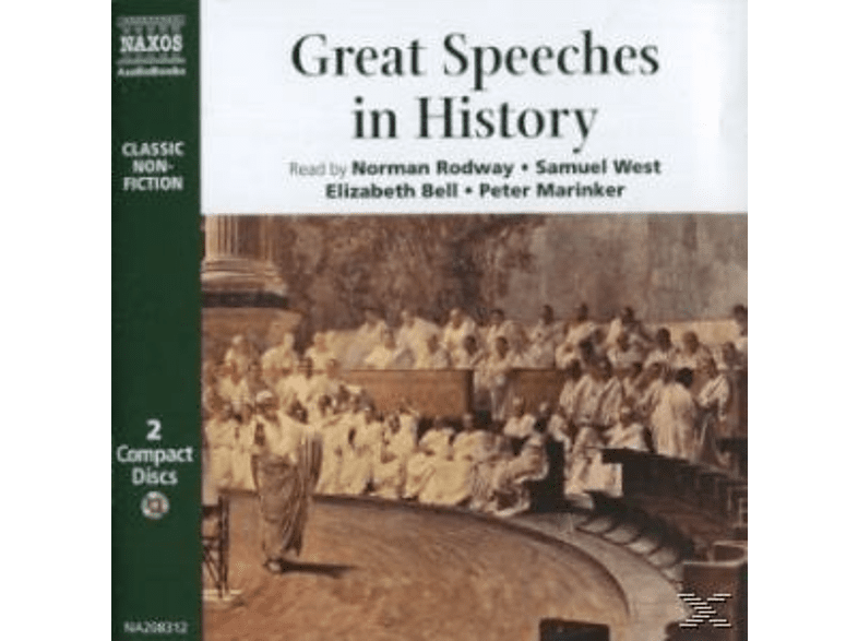 GREAT SPEECHES IN HISTORY - (CD)