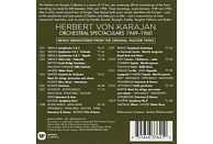 Berliner Philharmoniker, The Philharmonia Orchestra - Orchestral Spectaculars - From Händel To Bartok [CD]