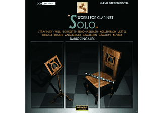 Dario Zingales - Solo Works For Clarinet - (CD)