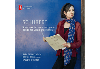 Daniel Tong, Callino Quartet, Sara Trickey - Schubert: Sonatinas For Violin And Piano / Rondo For Violin And Strings - (CD)