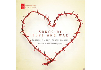Malcolm Martineau, Cantabile / The London Quartet - Songs Of Love And War - (CD)