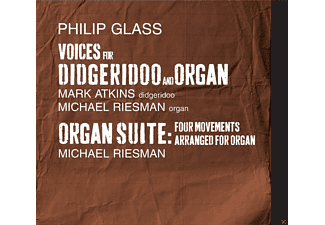 Mark Atkins, Michael Riesman - Voices For Didgeridoo And Organ/Organ Suite - (CD)