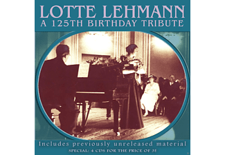 Lotte Lehmann - Lotte Lehmann-A 125th Birthday Tribute - (CD)