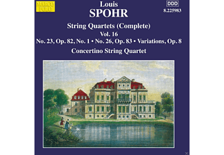 Concertino String Quartet - Strings Quartett (Complete) - (CD)