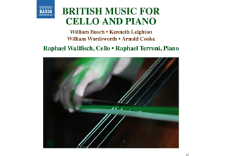 Raphael Wallfisch, Raphael Terroni - British Music For Cello And Piano - (CD)