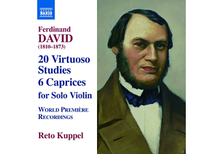 Reto Kuppel - David: 20 Virtuoso Studies - 6 Caprices - (CD)