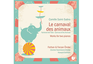 Ferhan Onder, Ferzan Onder, Zürcher Kammerorchester - Le Carnaval Des Animaux - Works For Two Pianos [CD]