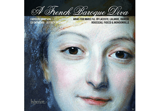 Carolyn Sampson, Jeffrey Skidmore, Ex-cathedra - A French Baroque Diva-Arias For Marie Fel - (CD)