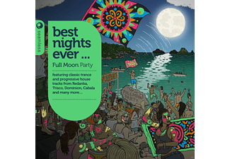 VARIOUS - Best Nights Ever-Full Moon Party - (CD)