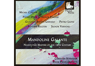 Christian Schneider, Sylvie Pécot-Douatte - Mandoline Galante - Neapolitan Masters Of The 18th - (CD)
