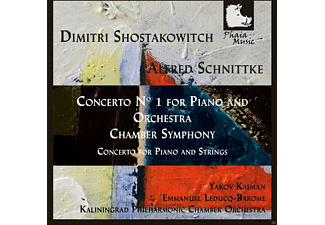 Yakov Kasman, Kaliningrad Philharmonic Chamber Orchestra - Shostakowitch & Schnittke: Concerto No. 1 For Piano And Orchestra - (CD)