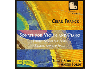 Inger Sodergren, Annie Jordy - Franck: Sonate For Violin And Piano - (CD)