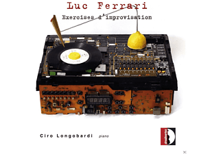 Ciro Longobardi - Exercises d'improvisation - (CD)