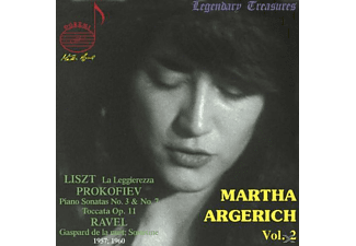Martha Argerich - Legendary Treasures - Martha Argerich Vol.2 - (CD)