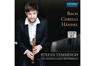 Stefan Temmingh, Olga Watts, Domen Marincic, Alex Wolf, Temmingh's Ensemble, Olga Mishula, Lyndon Watts, Loredana Gintoli - Stefan Temmingh & Ensemble - The Oehms Classical Recordings - (CD)