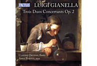 Claudio Ortensi, Anna Pasetti - Trois Duos Concertants op.2 [CD]