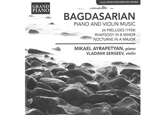 Mikael Ayrapetyan, Vladimir Sergeev - Piano And Violin Music - (CD)