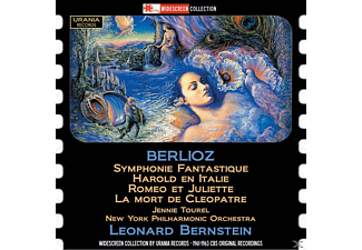 Lincer/Tourel/Bernstein/New York Philharmonic - Symphonie Fantastique u.a.Orchesterwerke - (CD)