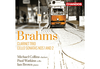 Paul Watkins, Ian Brown, Michael Collins - Cellosonaten Op.38 & 99/Klarinettentrio Op.114 - (CD)