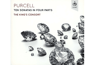 The King's Consort - Ten Sonatas In Four Parts - (CD)