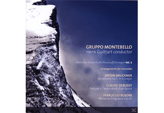 Henk Guittart (dir) Gruppo Montebello - Arrangements Für Ensemble - (CD)