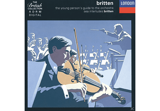 Richard Bonynge, Edward Benjamin Britten - Young Person's Guide To The Orchestra [CD]
