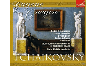 Galina Vishnevskaya, Sergei Lemeshey, Yevgeni Belov, Larisa Avdeyeva, Ivan Petrov, Solists, Chorus And Orchestra Of The Bolshoi Theatre - Eugene Onegin - (CD)