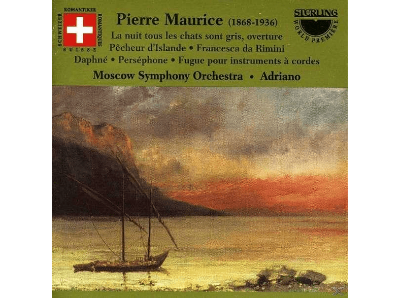 Moscow Symphony Orchestra - Maurice Orchesterwerke [CD]