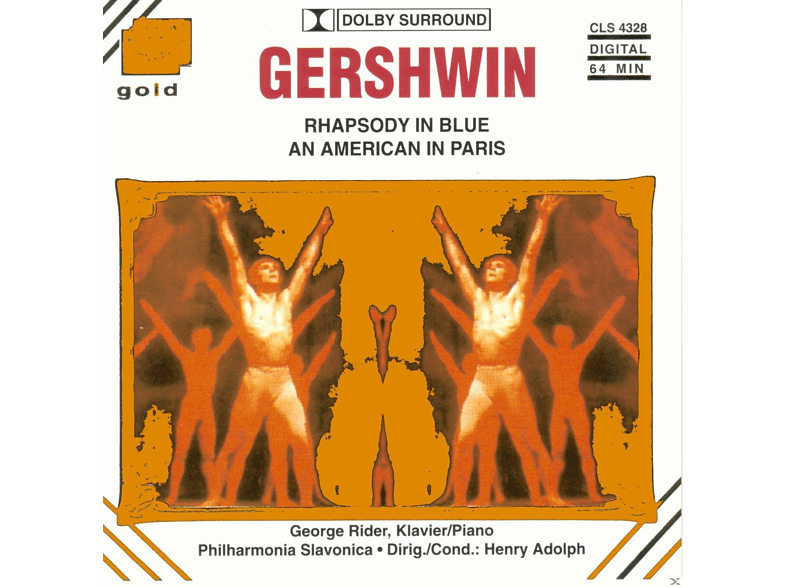 George Rider, Philarmonia Slavonica - Rhapsody In Blue [CD]
