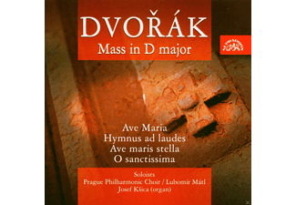 Prague Philharmonic Choir, Josef Ksica, Lubomir Mátl - Dvorák: Messe In D-Dur - (CD)