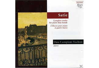 Duo Campion Vachon - Satie: Complete Works For Piano Four Hands - (CD)