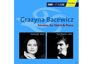 Piotr Plawner, Kupiec Ewa - Sonatas For Violin & Piano - (CD)