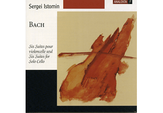 Sergei Istomin - Cellosuiten 1-6 - (CD)