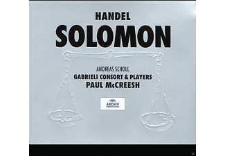 Andreas Scholl, Gabrieli Consort & Players, Paul Mccreesh - Händel: Solomon - (CD)