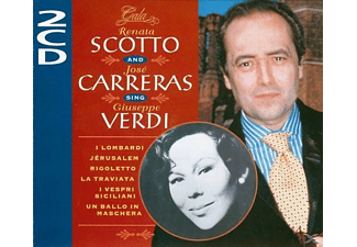 Sopran Scotto Renata, Renata Scotto, José Carreras - Sings Verdi - (CD)