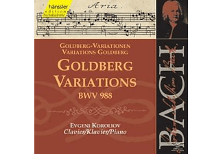 The Piano - GOLDBERG VARIATIONS BWV 988 - (CD)