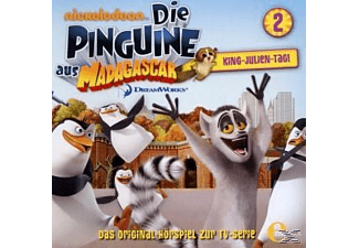 - Die Pinguine aus Madagascar 02: King-Julien-Tag! - (CD)