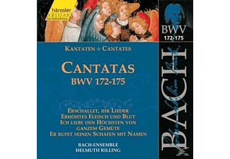 Bach Ensemble - KANTATEN BWV 172-175 - (CD)