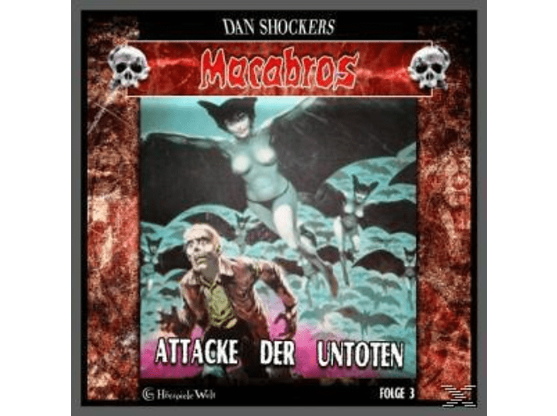 Macabros 3: Attake der Untoten - (CD)
