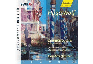 The Fine Arts Quartet - Hugo Wolf: Quartett/Quartet - (CD)