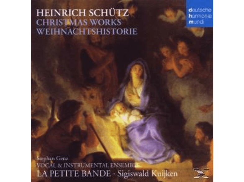 La Petite Bande - Christmas Works-Weihnachtshistorie [CD]