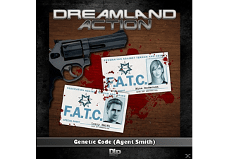 Dreamland Action 01: Genetic Code (Agent Smith) - 1 CD - Science Fiction/Fantasy