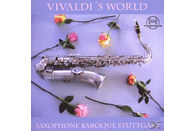 Saxophone Baroque Stuttgart - Vivaldi's World [CD]