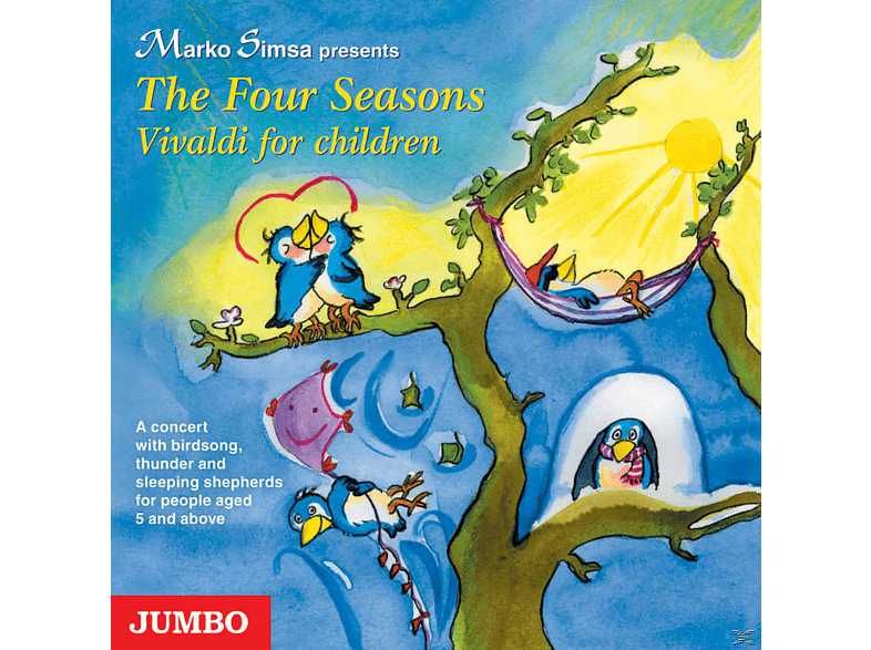 Four Seasons. Vivaldi For Children - (CD)