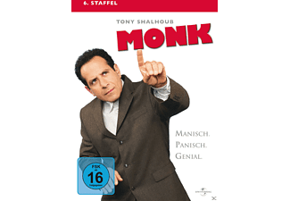 Monk - Staffel 6 - (DVD)