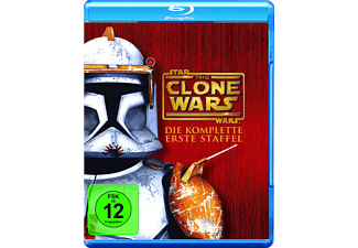 Star Wars: The Clone Wars - Die komplette erste Staffel - (Blu-ray)