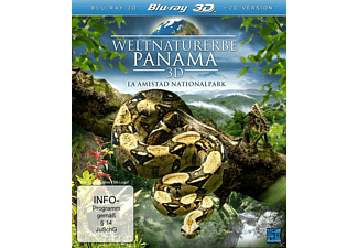 Weltnaturerbe Panama - (3D Blu-ray)