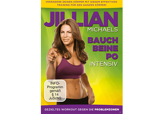 Jillian Michaels- Bauch, Beine, Po intensiv - (DVD)