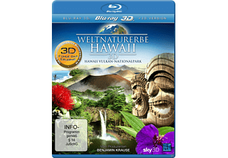 Weltnaturerbe Hawaii 3D - Hawaii Vulkan-Nationalpark - (3D Blu-ray)